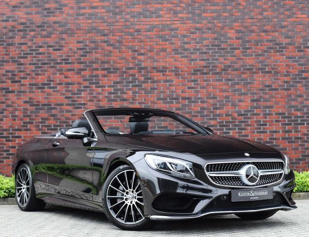 Mercedes-Benz S500 cabriolet Designo