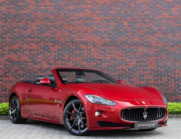 Maserati GranCabrio Sport 4.7